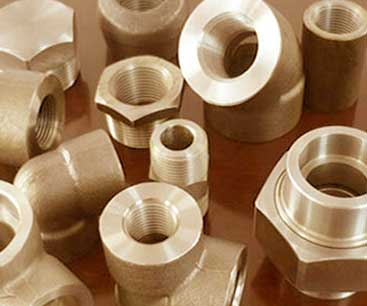 CuNi Threaded Forged Fittings