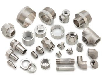 Duplex Steel S31803/S32205 Threaded Forged Fittings