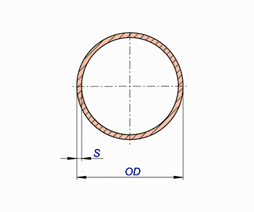 Copper Nickel Pipes Class 50