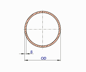 Copper Nickel Pipes Class 700