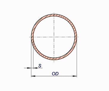 Copper Nickel Pipes Schedule 10S