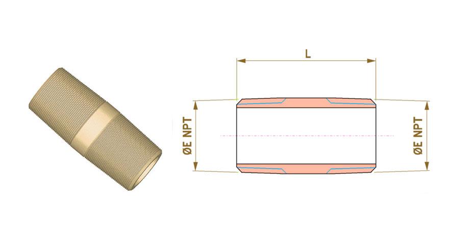 Copper-nickel-pipe-nipples