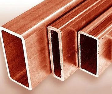 Copper & Copper Nickel Rectangular Pipes